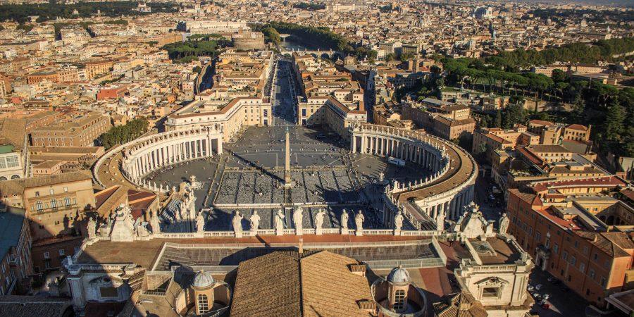 Ватикан с высоты